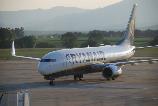 Ryanair en Fertilia
