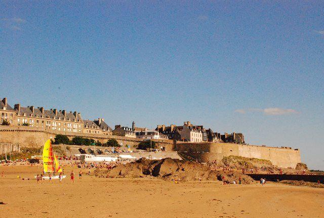 Un tarde de verano en Saint Malo