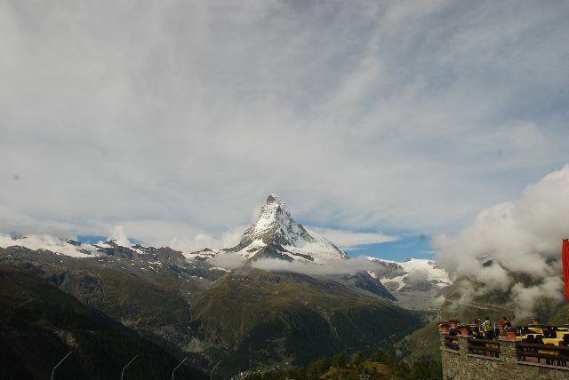 El Matterhorn desde Sunnegga