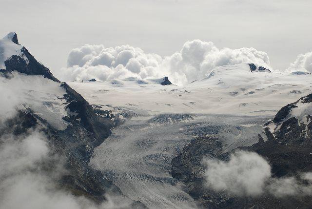 Paisaje glaciar en el Rothorn