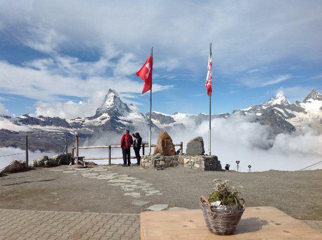 ¿El mejor mirador del Matterhorn?