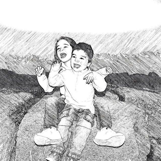 Jan y Martina, nuestros fieles y sufridos hijitos