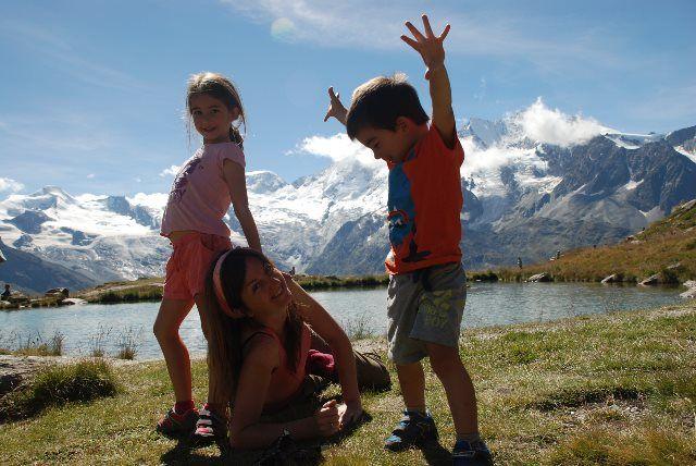Diversión en familia en el valle de Saas