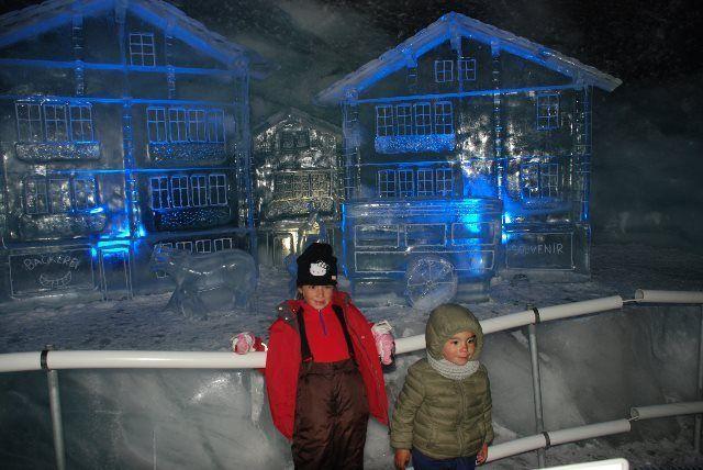 Visita al palacio de hielo