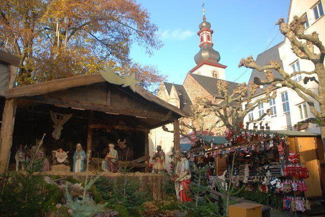 El pesebre de Rüdesheim
