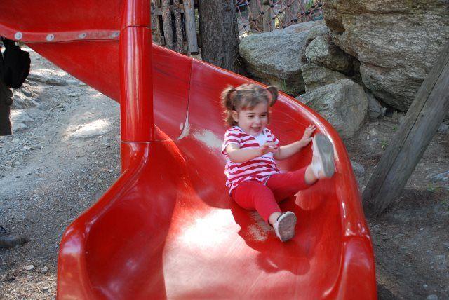 Diversión para los peques en el parque de Robi