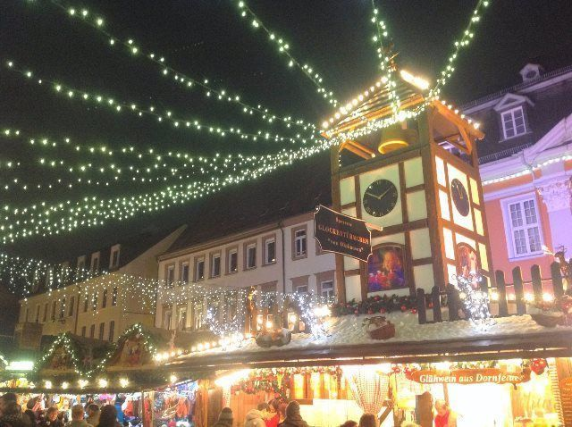 La Navidad en Speyer está llena de luz y color
