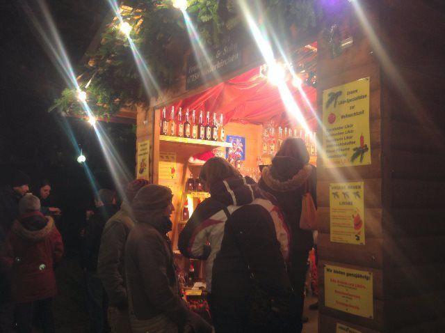 De compras en el mercado de Navidad de Deidesheim