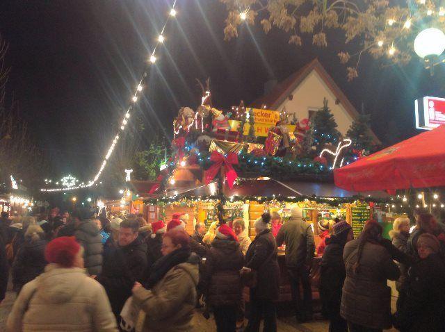 Gran atmósfera navideña en Deidesheim