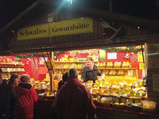 Paseando por el mercado de Navidad de Rüdesheim