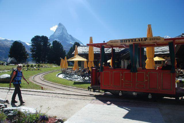 El tranvía de Riffelalp