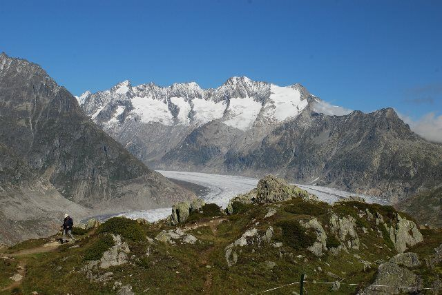 Aletsch desde Moosfluh