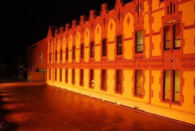 Fachada original del museo Cosmocaixa