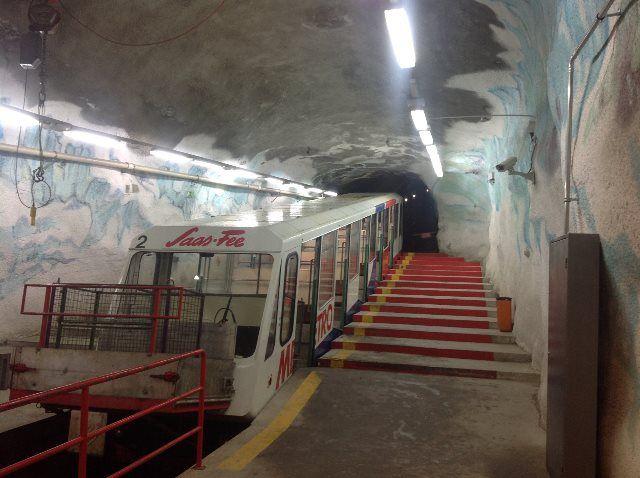 El metro más alto del mundo