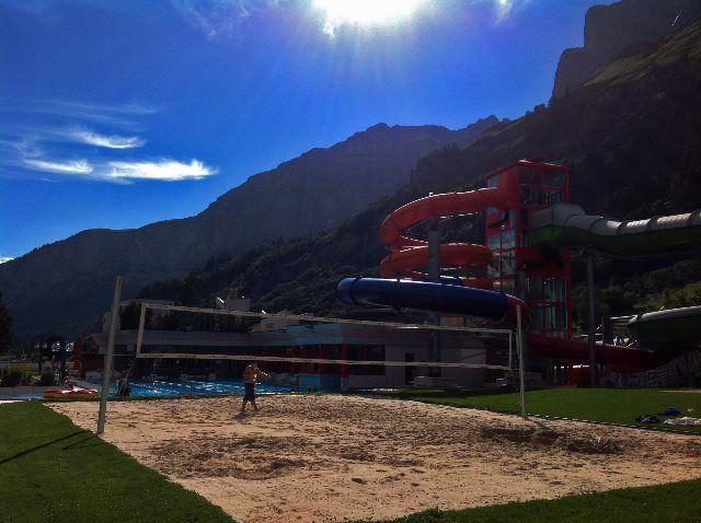 Volley playa en Leukerbad Therme