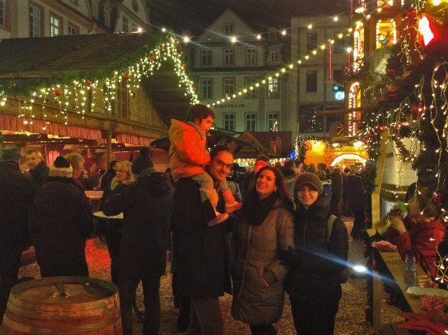 Disfrutando de la Navidad en Koblenz