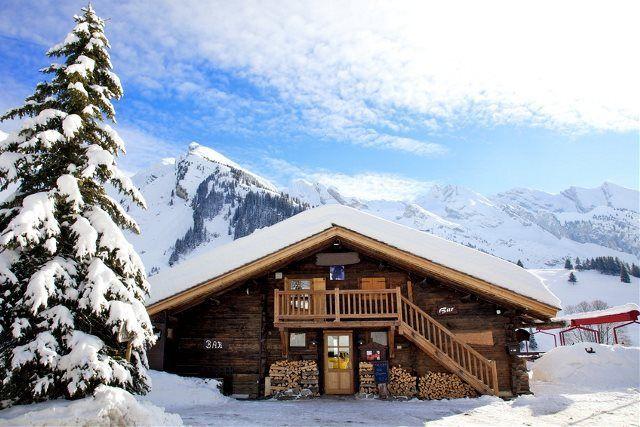 Casas de vacaciones en la nieve