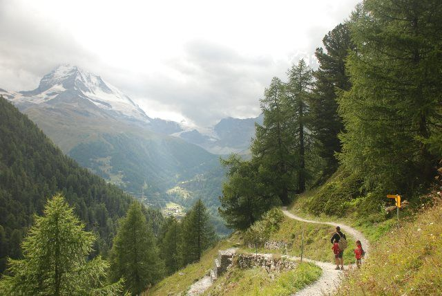 Camino de Findeln a Zermatt