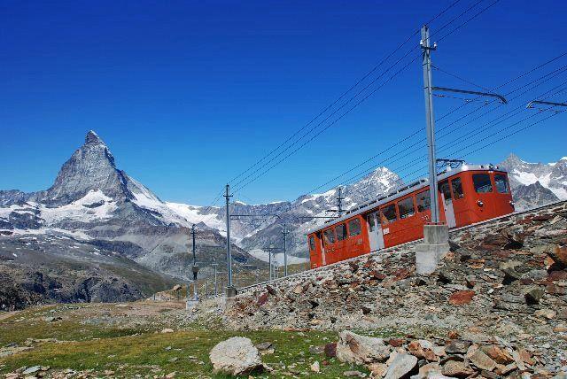 El tren del Gornegrat