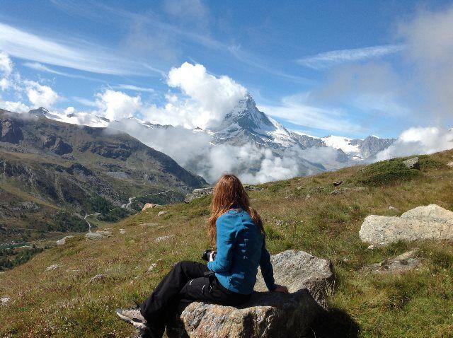 Vistas del Matterhorn desde Sunnegga