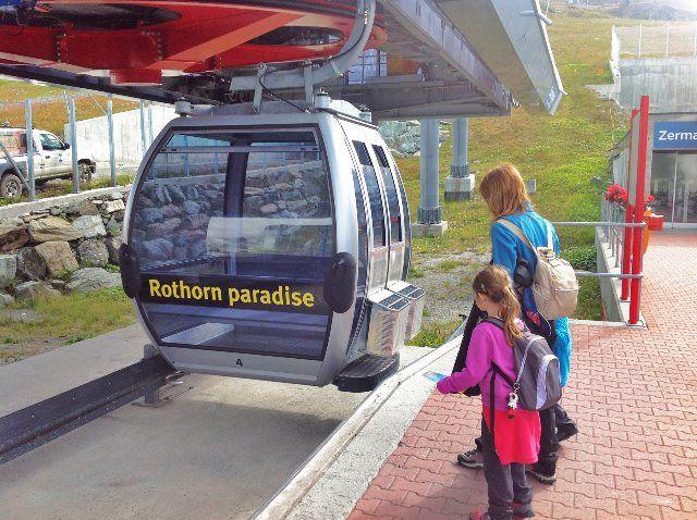 Teleférico de Sunnegga a Blauherd