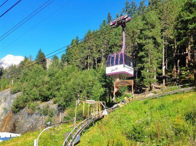 El Alpine Express sobrevuela el Feeblitz