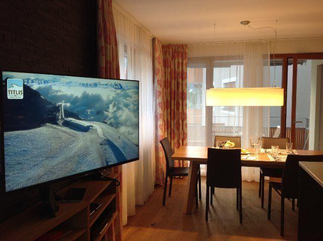 Disfrutando del apartamento Titlis Resort