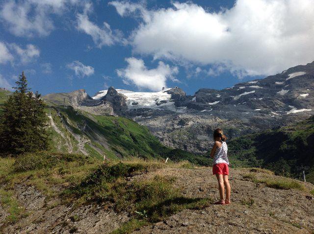 Los Alpes desde el Trübsee
