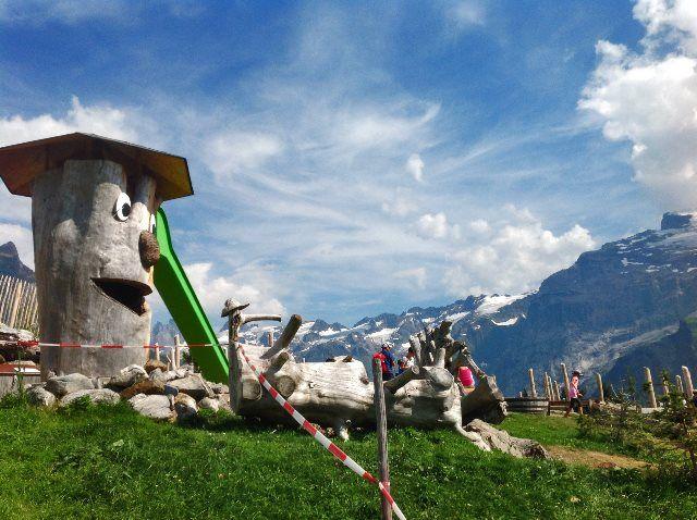 Brunni: el parque de montaña de Engelberg