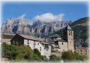 paisaje de los pirineos aragoneses