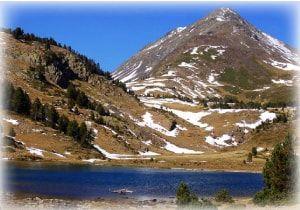 paisaje de los pirineos franceses