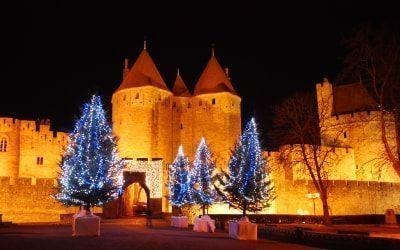 Mercadillo navideño de Carcassonne