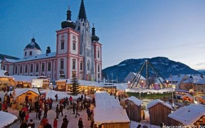 Mercado de navidad de Mariarell