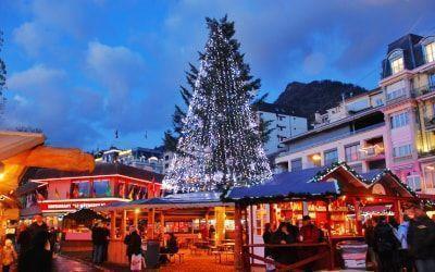 Mercado de Navidad en Montreux