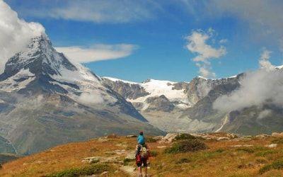 Vistas de Sunnegga en Zermatt