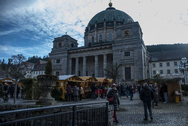 Atardecer en la catedral de St.Blasien