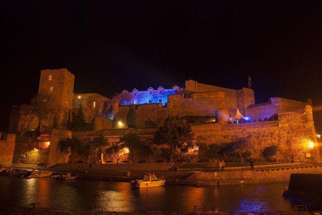 El castillo real de Colliure