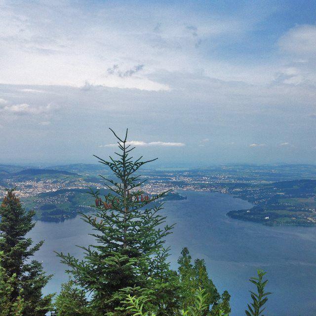 Lago Cuatro Cantones desde el Bürgenstock
