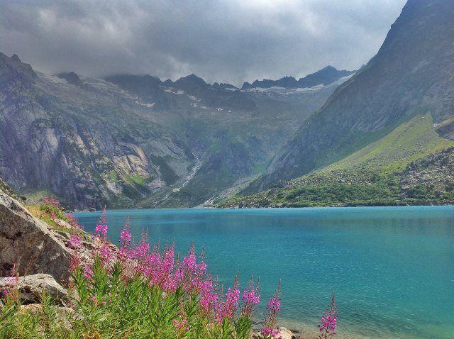 Un paisaje de sueño en el lago Gelmer