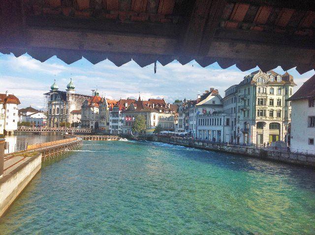 El Reuss desde el Spreuerbrücke