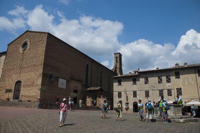 Iglesia de San Agustín, San Gimignano