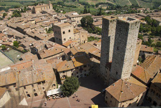 Las torres gemelas de San Gimignano