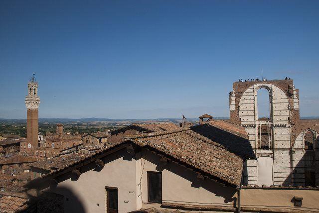 Panorámica de Siena desde la catedral