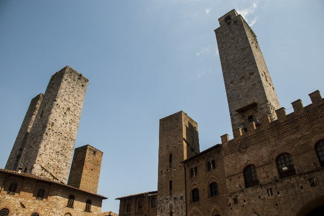 Skyline de San Gimignano