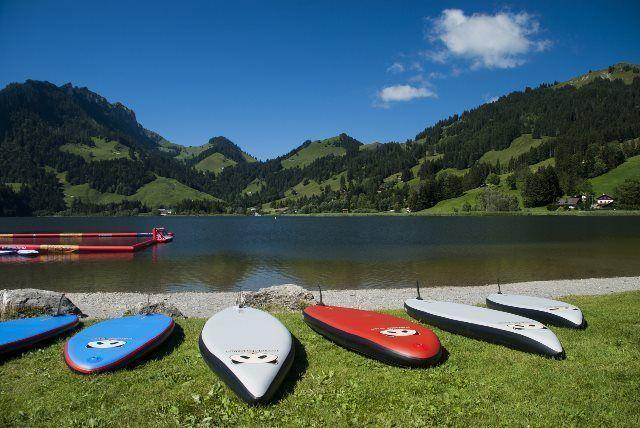 Padle surf en el Schwarzsee