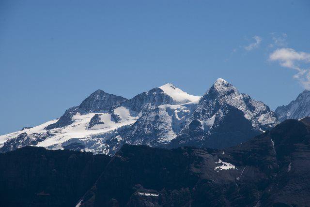 Eiger Mönch y Jungfrau