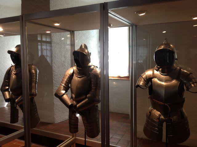 Exposición de armaduras