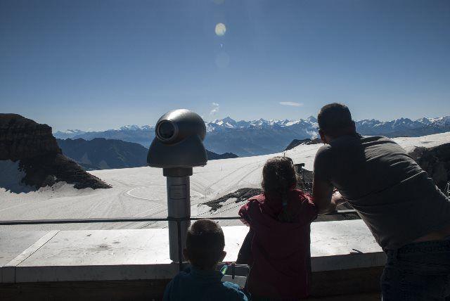 Los Alpes desde Glacier 3000