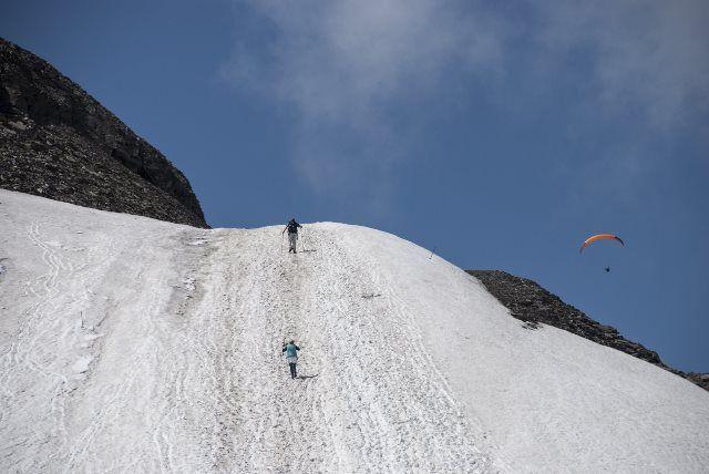 Paraíso blanco de Glacier 3000