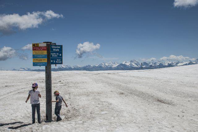 Paseo del glaciar
